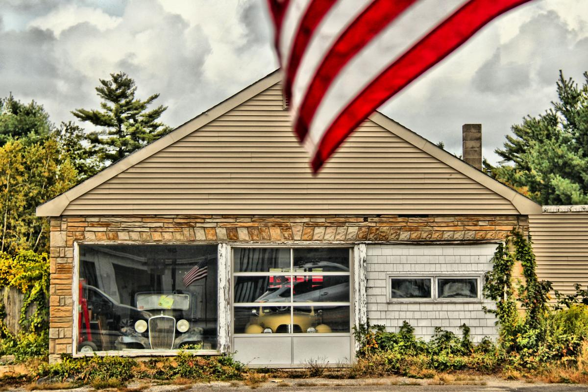 3rd Place Winner in the Architecture & Landmarks Category - Bellingham Auto Sales taken on Mechanic Street by Paul G. Daley